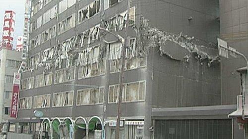 地震災害パンケーキクラッシュ