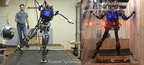 ボストンダイナミクスの人型ロボットATLAS