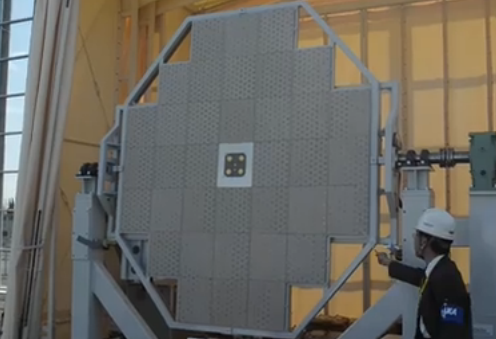 宇宙太陽光発電の無線送電、受信アンテナ