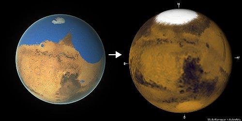 火星の水を失う