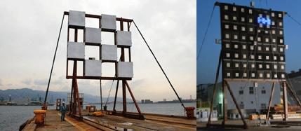 SSPSの無線送電技術、送電部と受電部